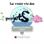 Jeu en ligne proposé par One2team : la vraie vie des projets